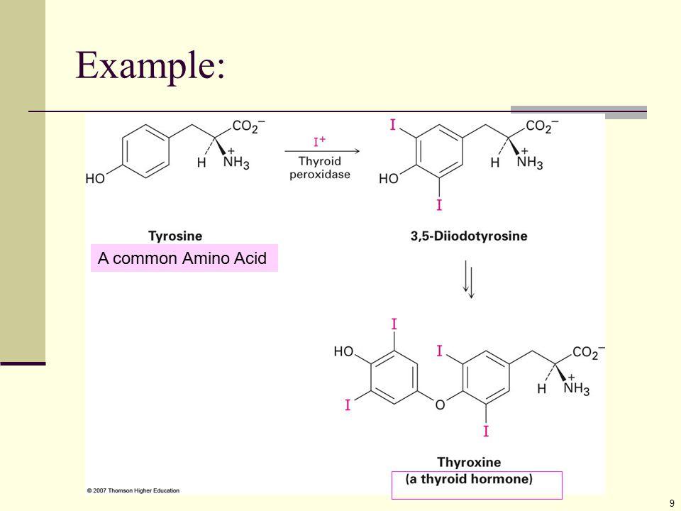 Example: A common Amino Acid
