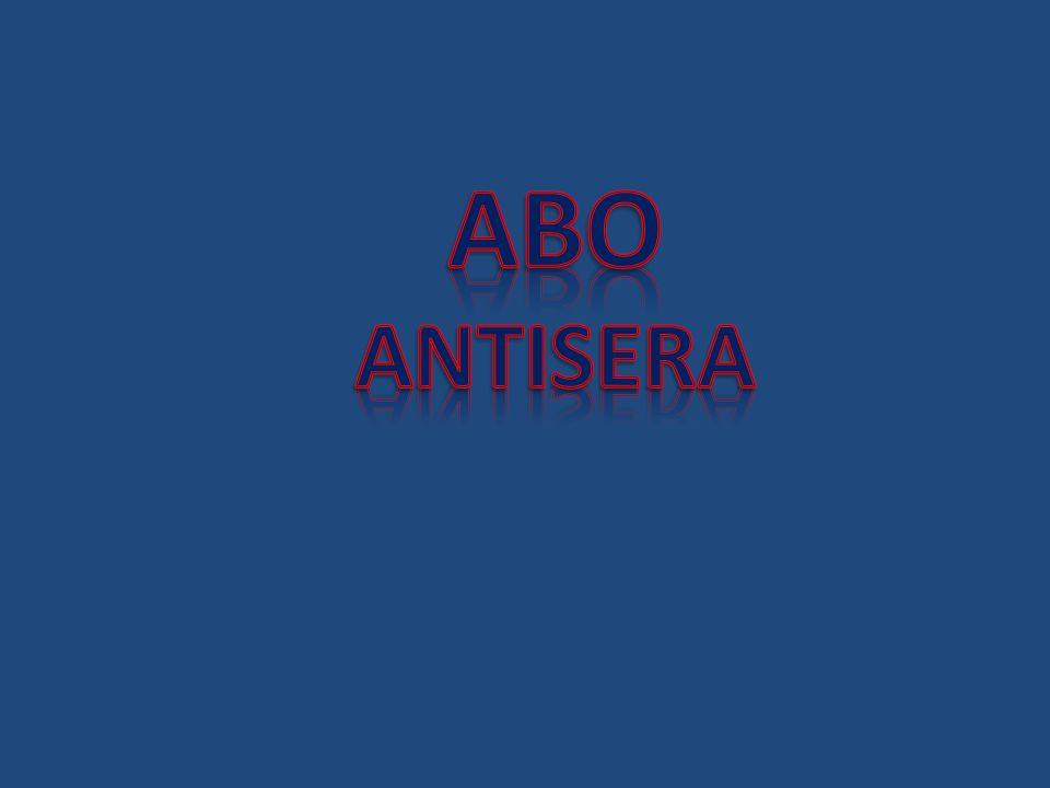ABO ANTISERA