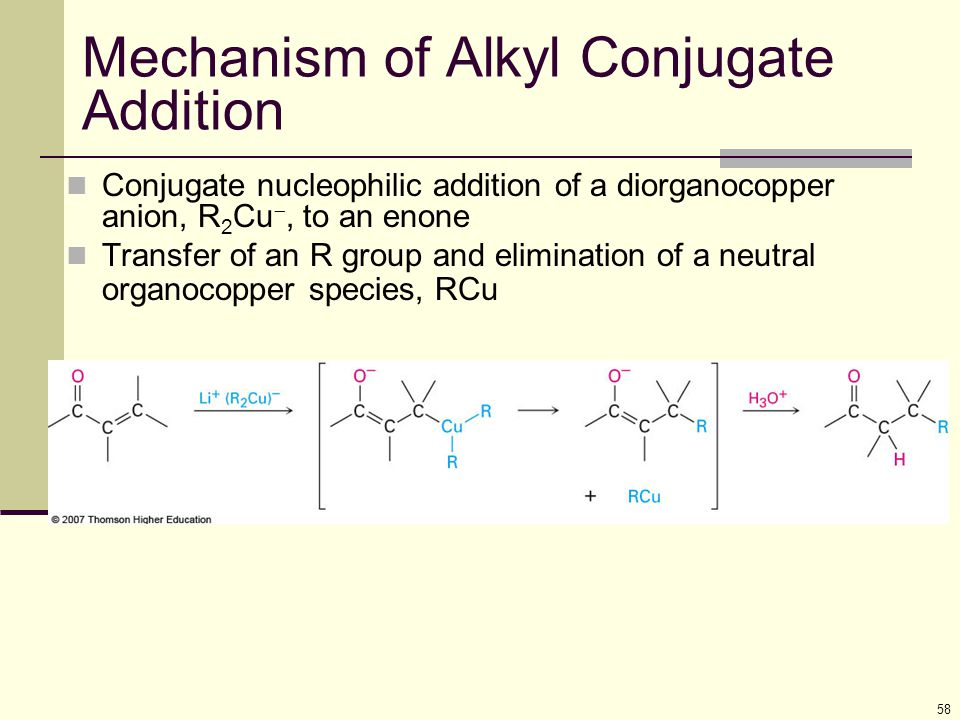 Mechanism of Alkyl Conjugate Addition