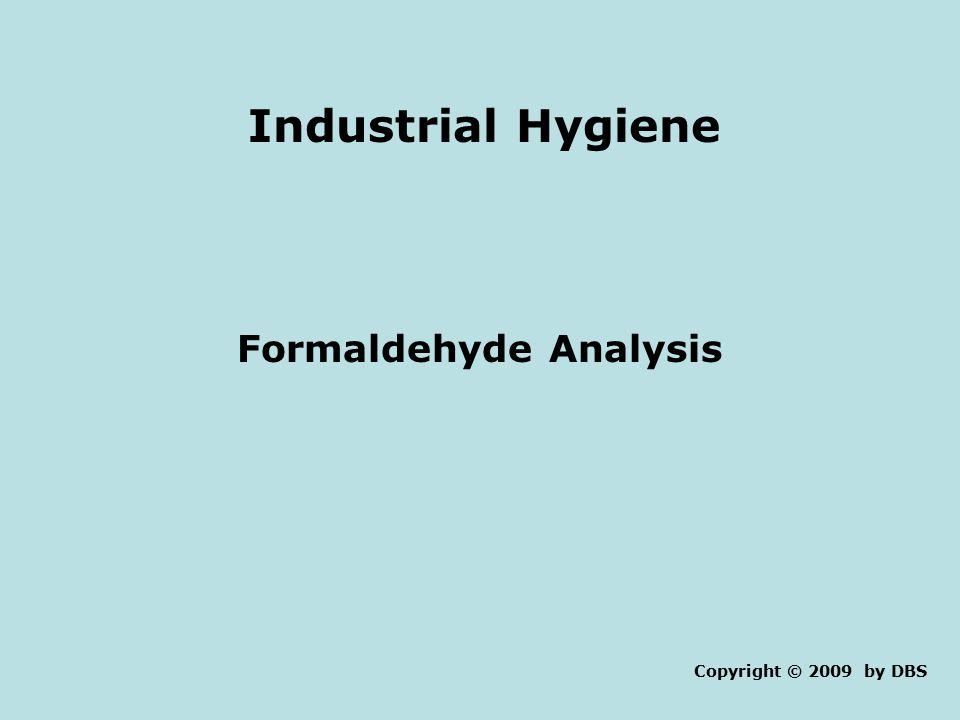 Formaldehyde Analysis