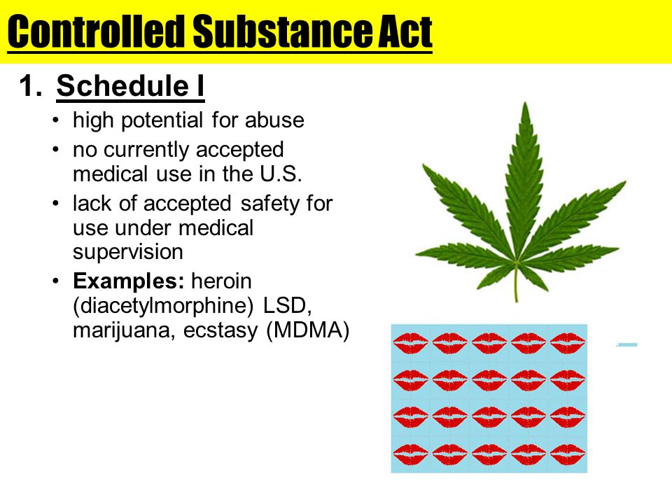 Controlled Substance Act