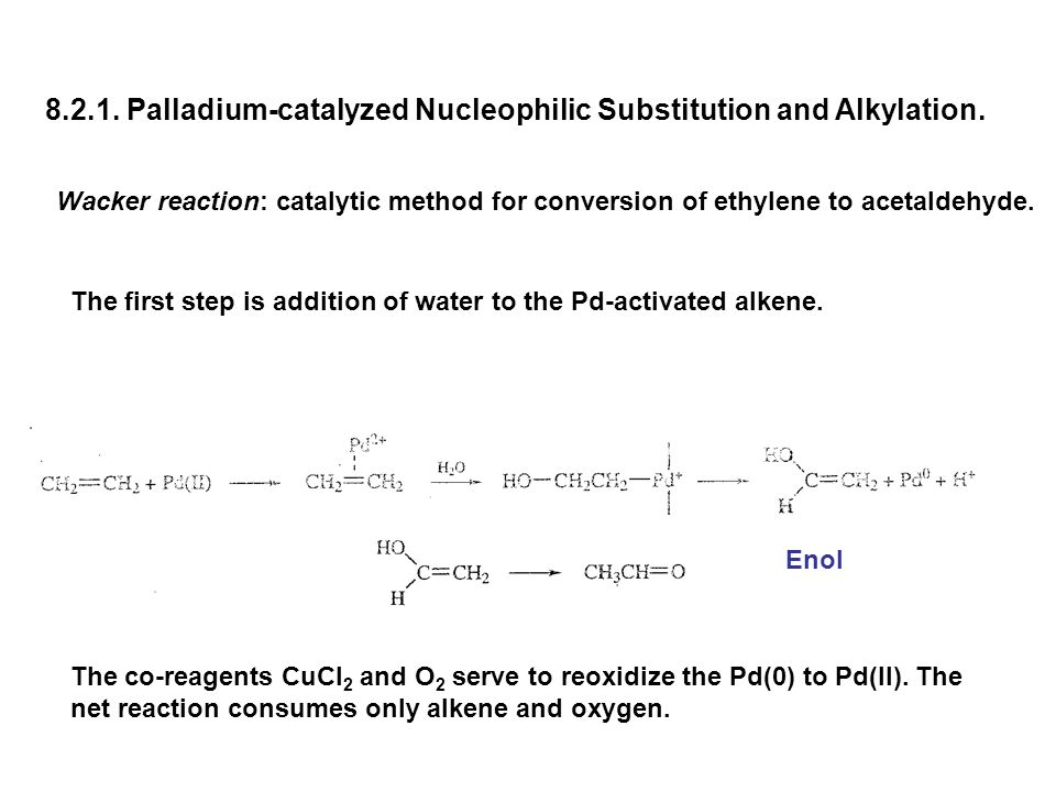 8.2.1. Palladium-catalyzed Nucleophilic Substitution and Alkylation.