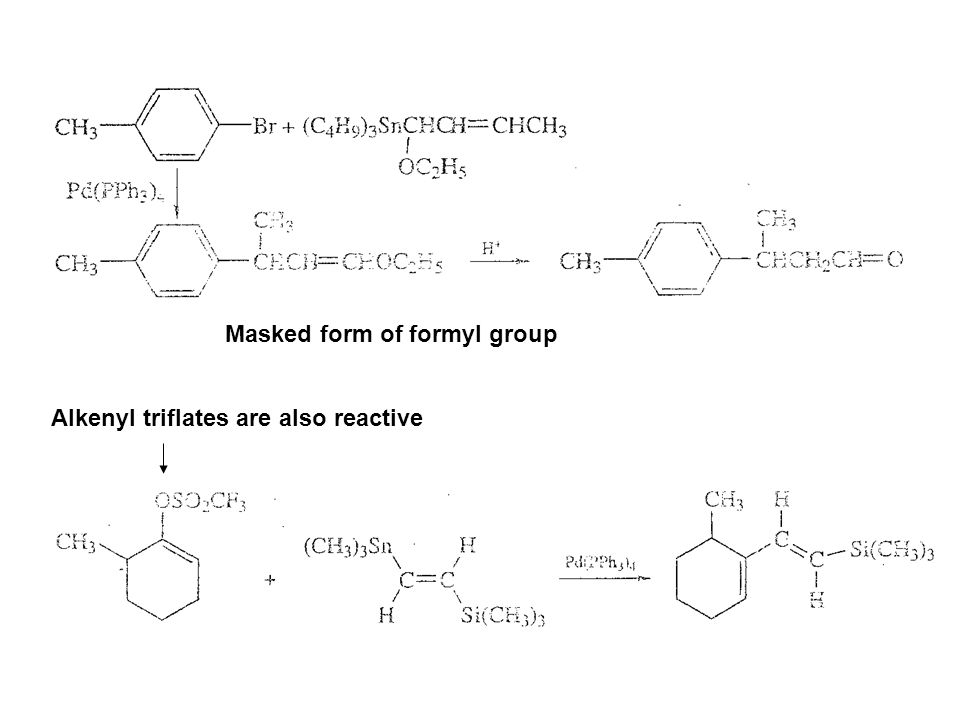Masked form of formyl group