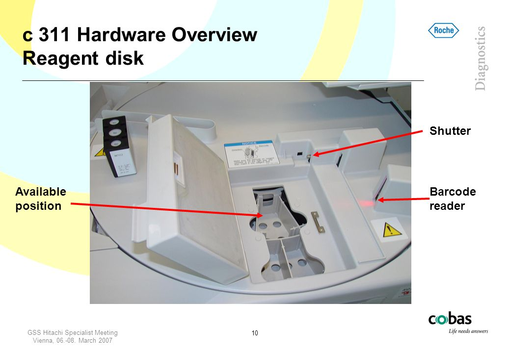 c 311 Hardware Overview Reagent disk