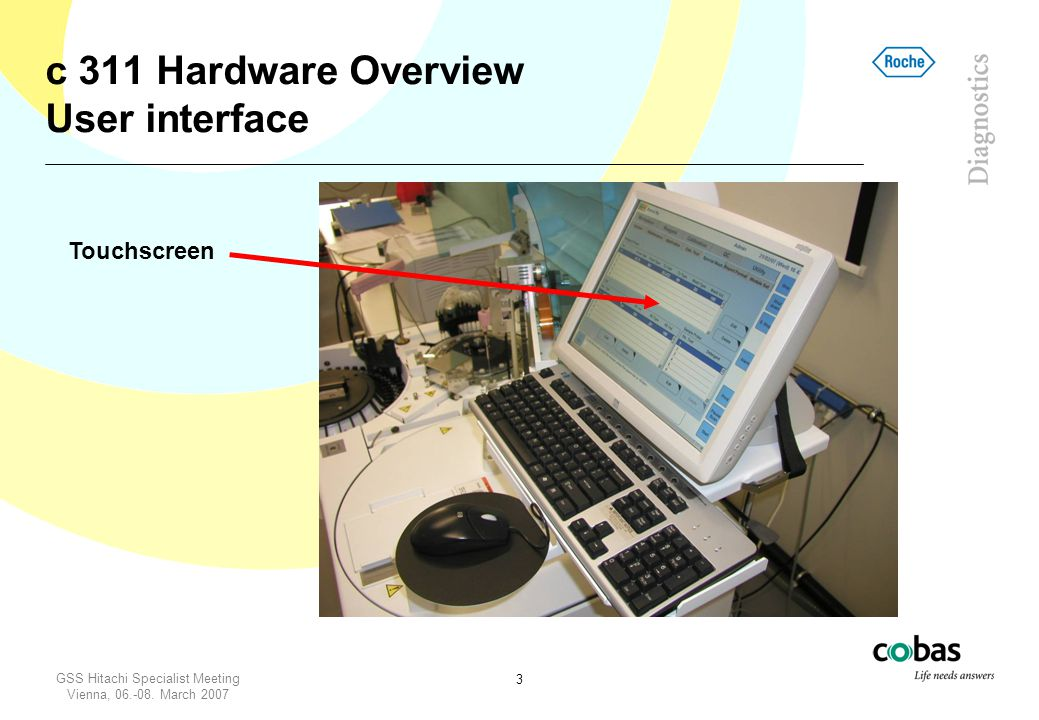 c 311 Hardware Overview User interface