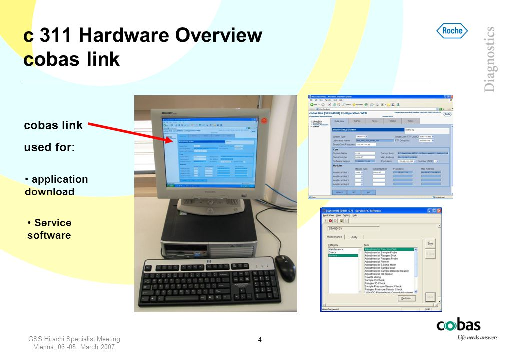 c 311 Hardware Overview cobas link