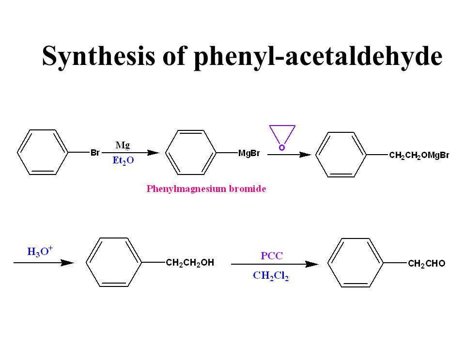 Synthesis of phenyl-acetaldehyde
