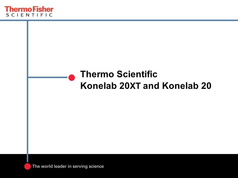 Thermo Scientific Konelab 20XT and Konelab 20