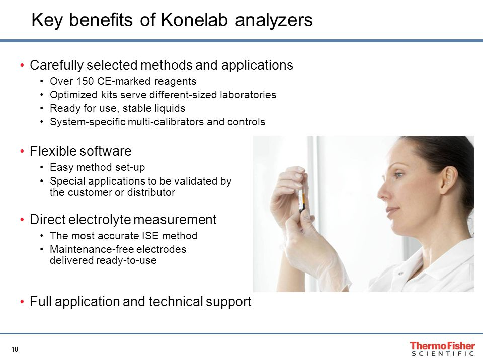 Key benefits of Konelab analyzers