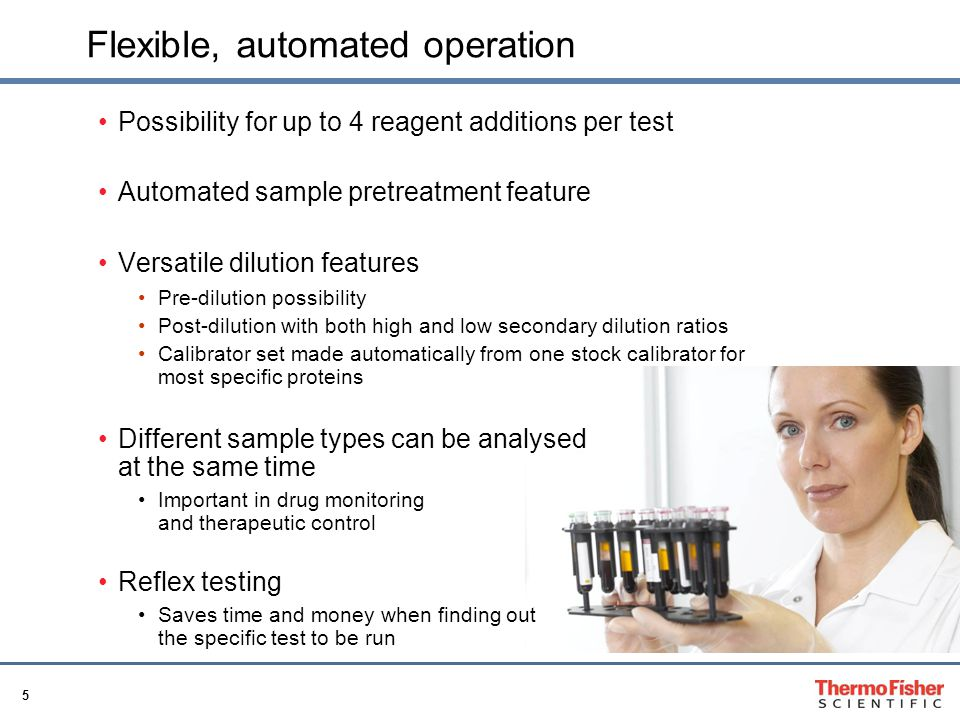 Flexible, automated operation