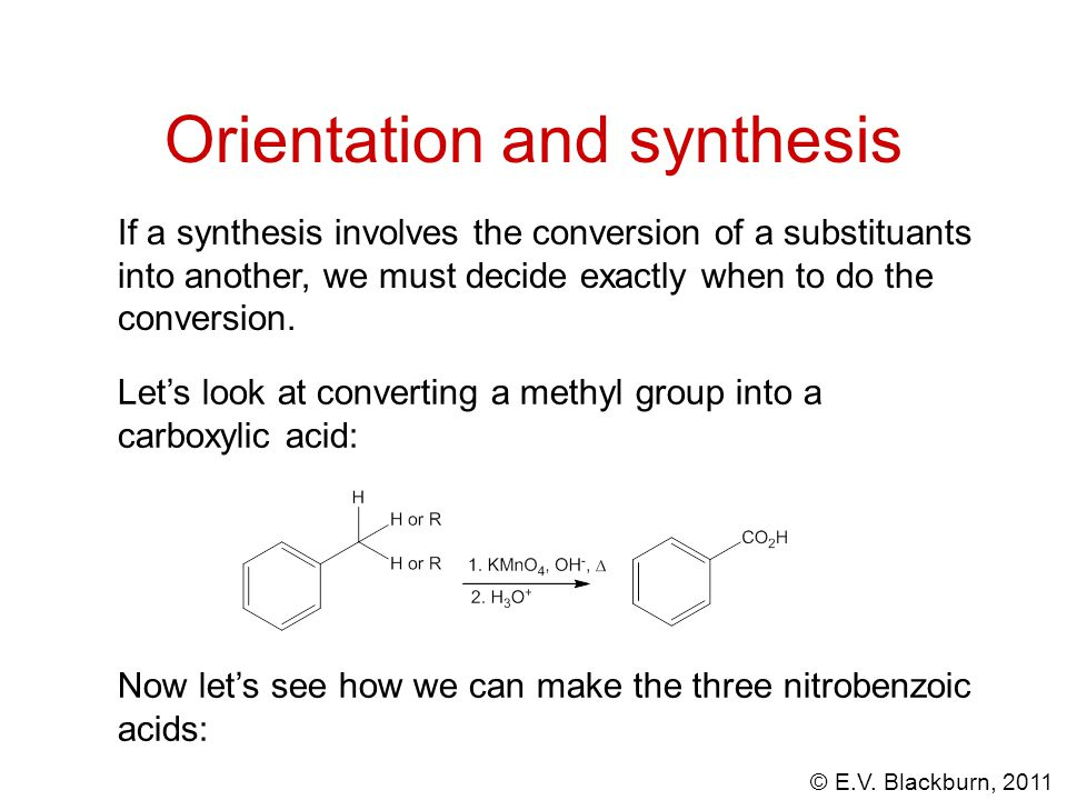 Orientation and synthesis