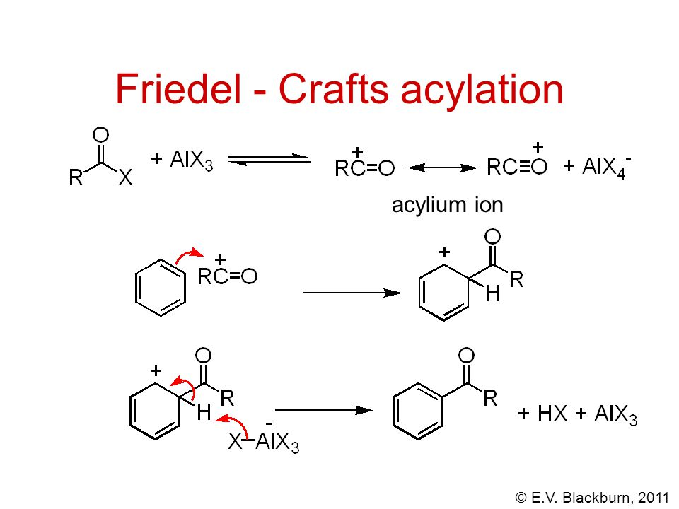 Friedel - Crafts acylation