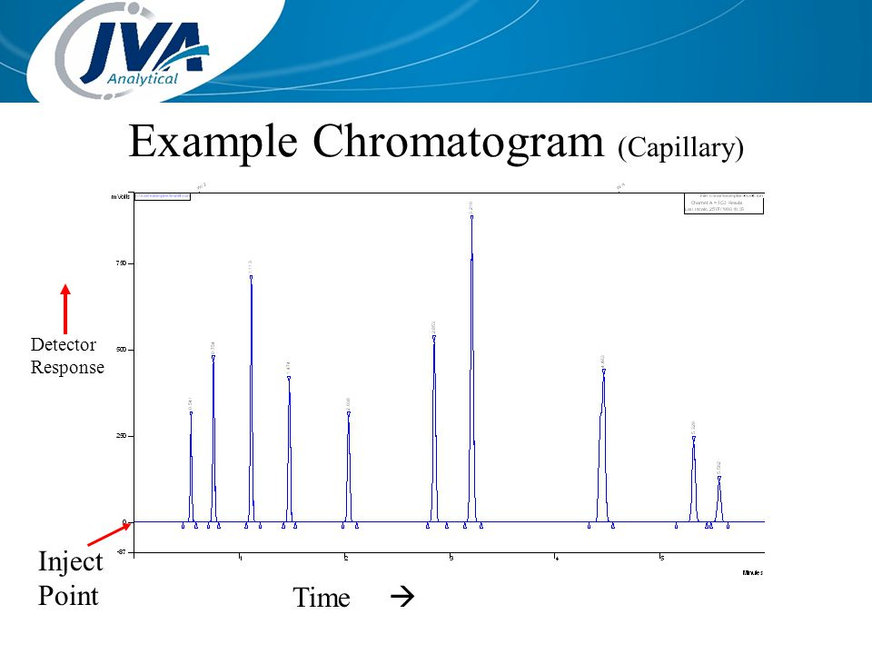 Example Chromatogram (Capillary)