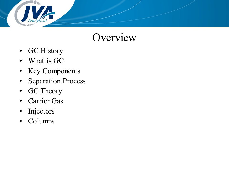 Overview GC History What is GC Key Components Separation Process