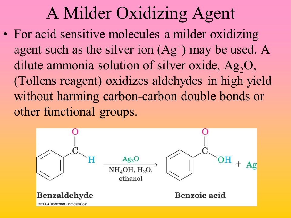 A Milder Oxidizing Agent