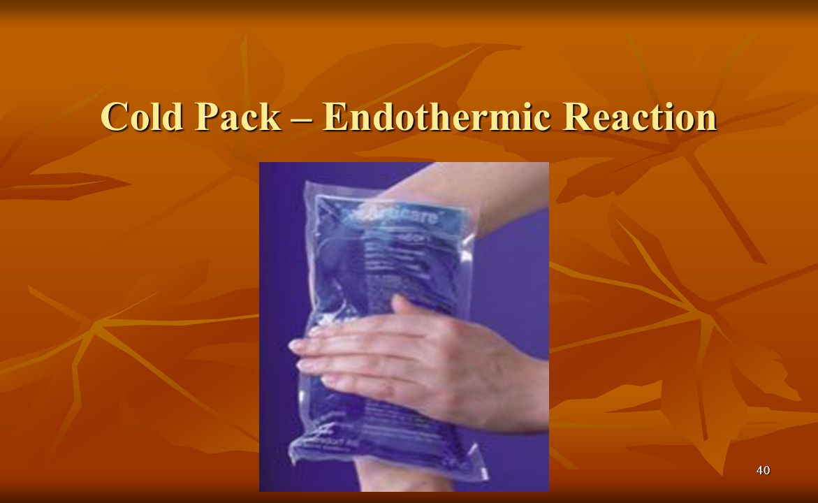 Cold Pack – Endothermic Reaction