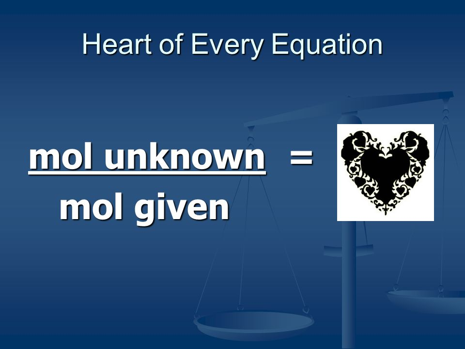 Heart of Every Equation