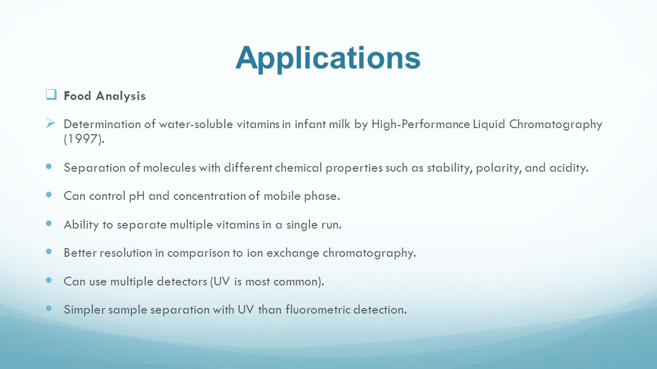 uses of hplc chromatography By: Maria Santos Nancy Zepeda - ppt download