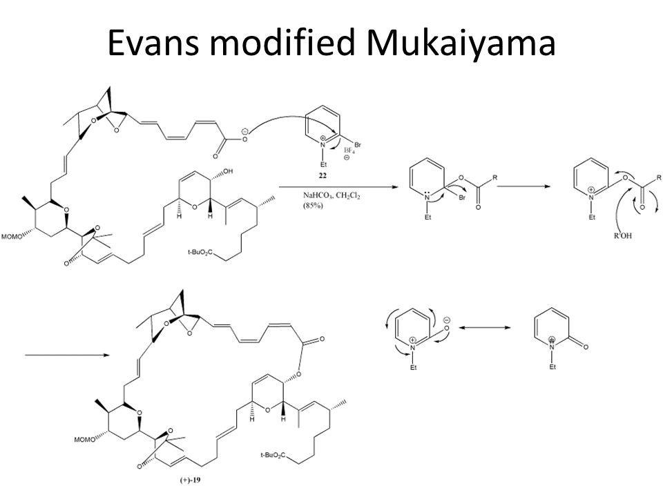 Evans modified Mukaiyama