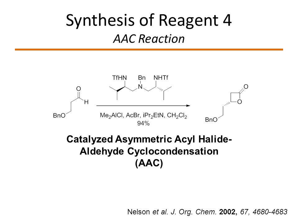 Synthesis of Reagent 4 AAC Reaction