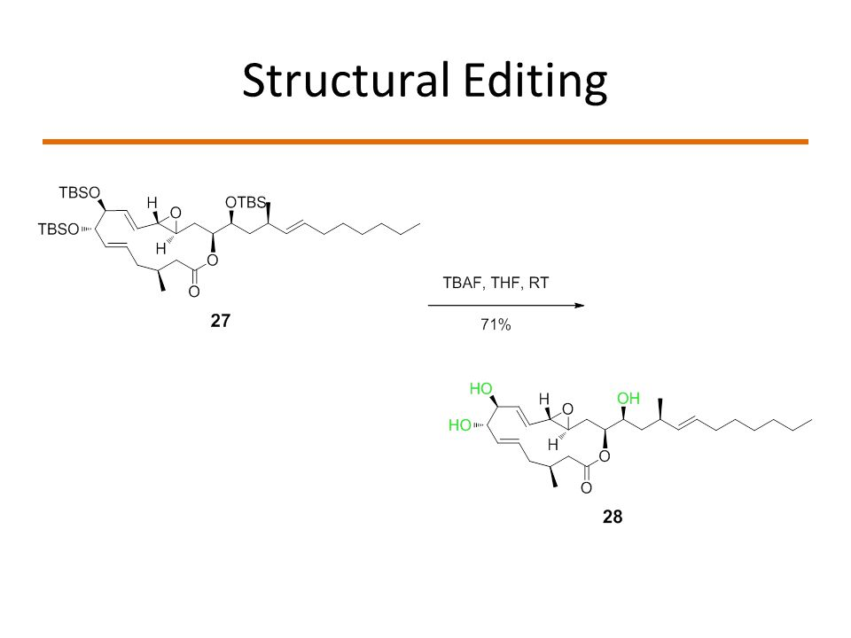 Structural Editing