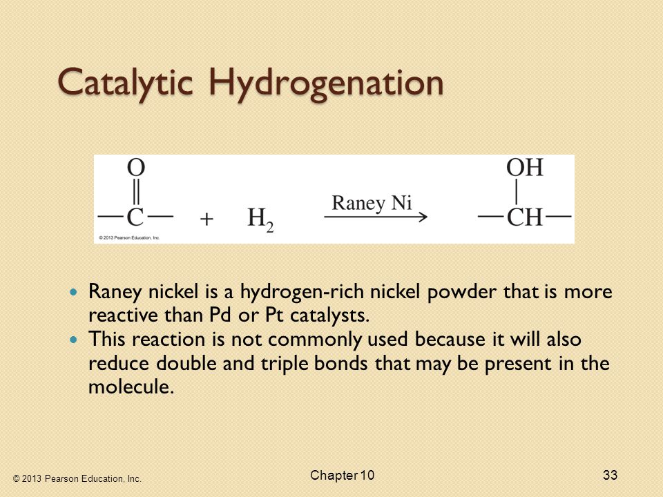 Catalytic Hydrogenation