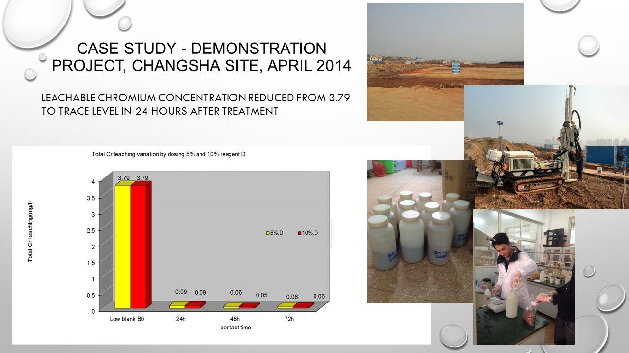 Case Study - Demonstration Project, Changsha Site, April 2014