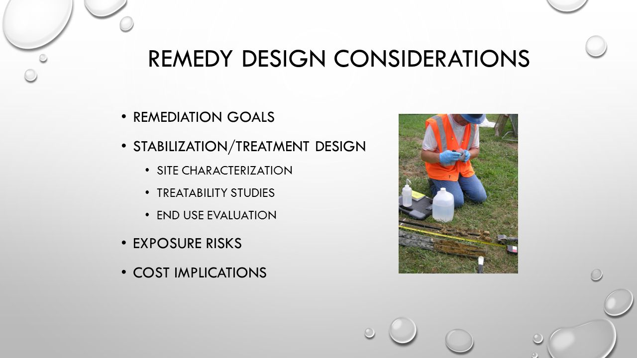 Remedy Design Considerations