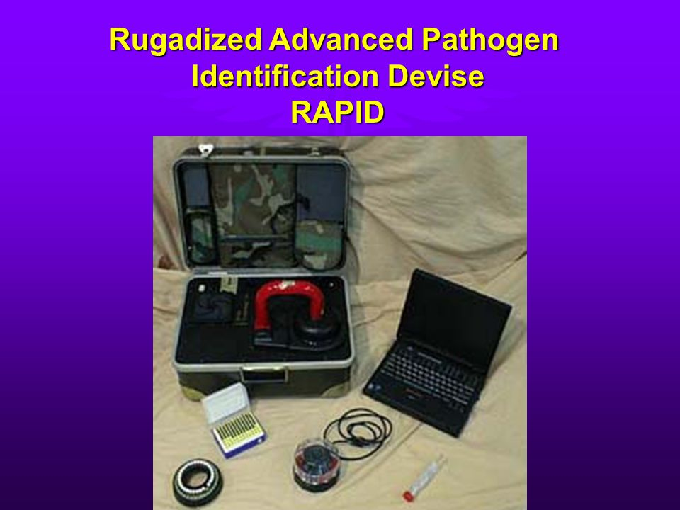 Rugadized Advanced Pathogen Identification Devise