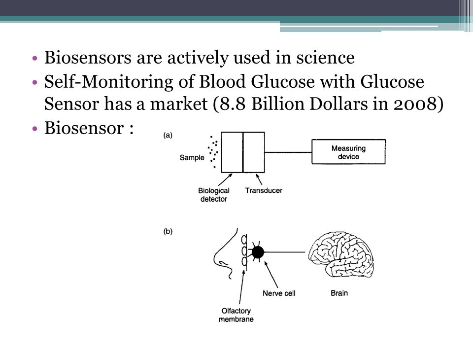 Biosensors are actively used in science