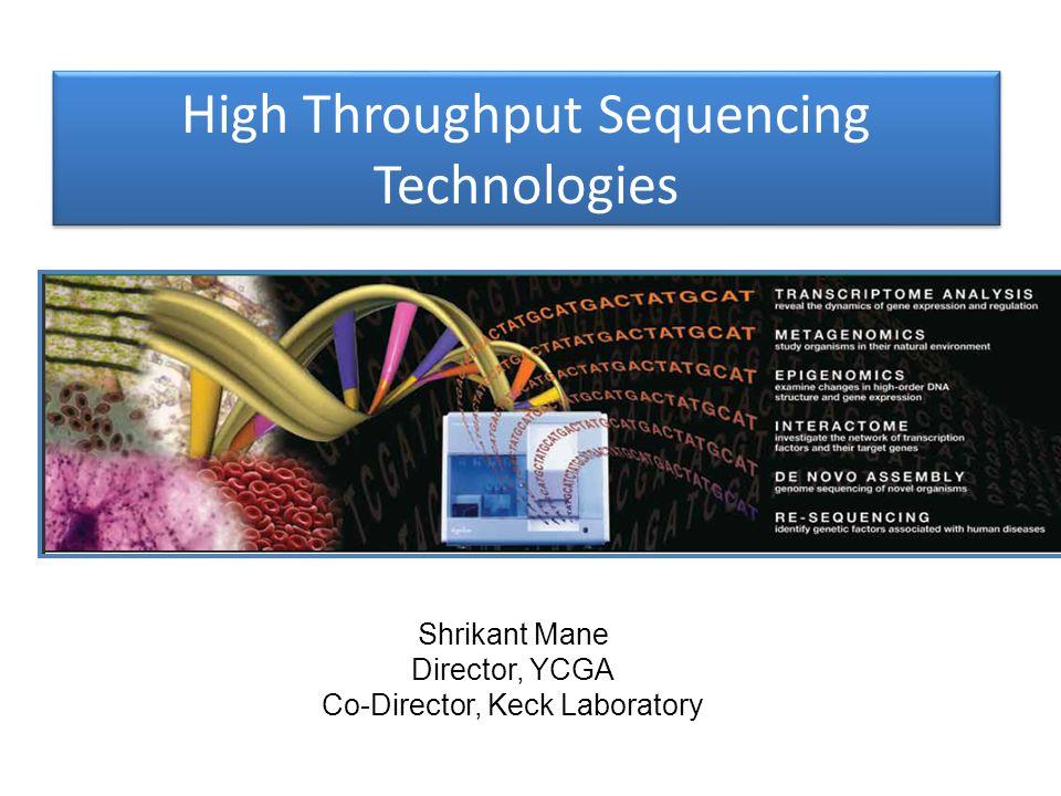 High Throughput Sequencing Technologies
