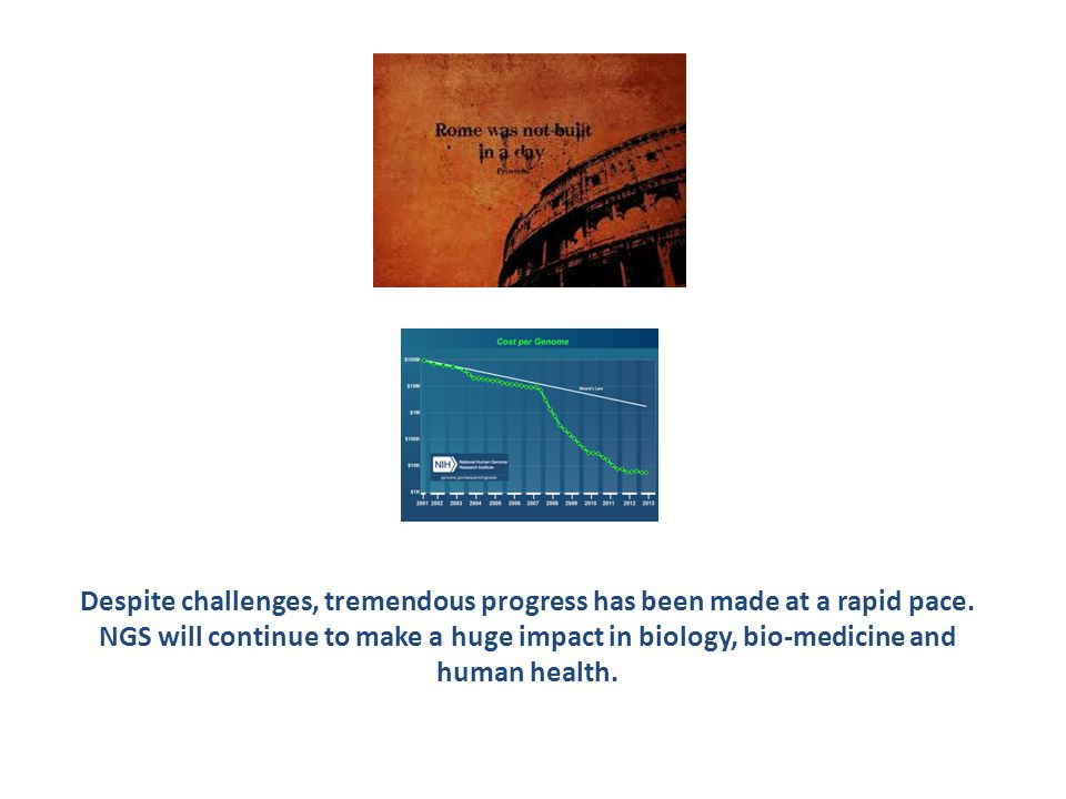 Despite challenges, tremendous progress has been made at a rapid pace.