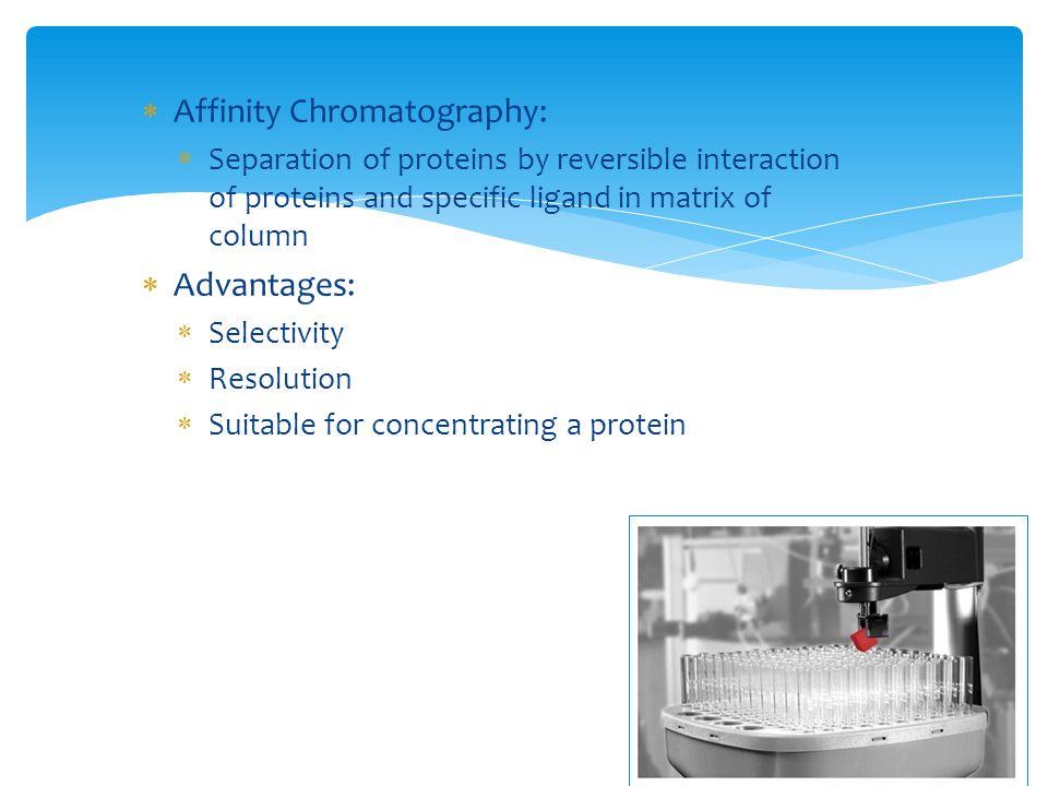 Affinity Chromatography: