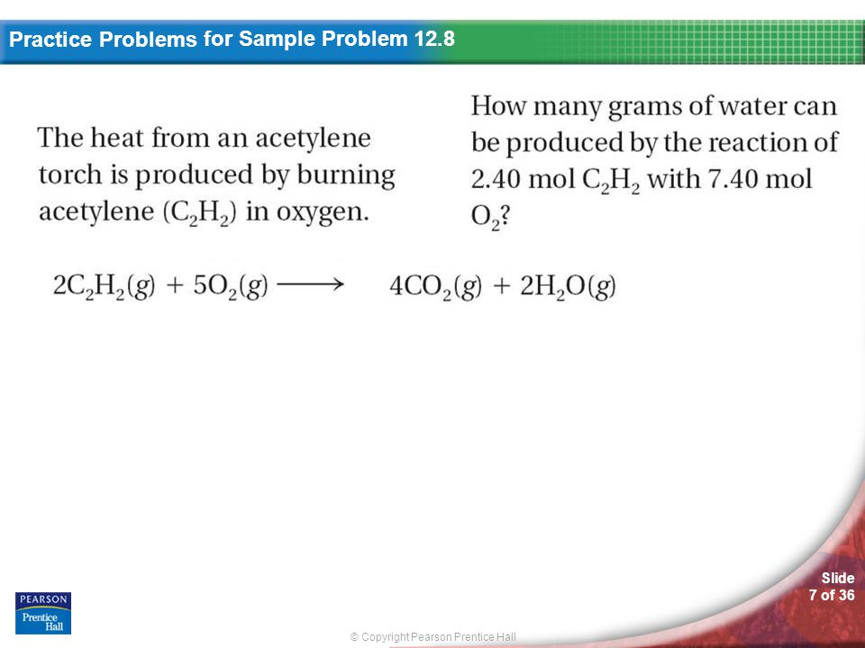 for Sample Problem 12.8