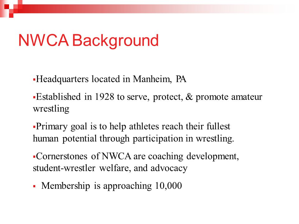 NWCA Background Headquarters located in Manheim, PA