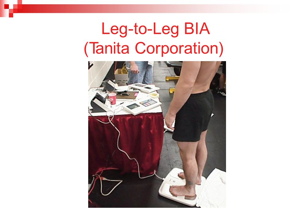 Leg-to-Leg BIA (Tanita Corporation)