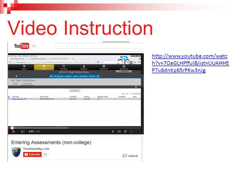 Video Instruction http://www.youtube.com/watch v=7OaGLHPffuI&list=UUAHHEP7u6dnKp65rPKw3nJg