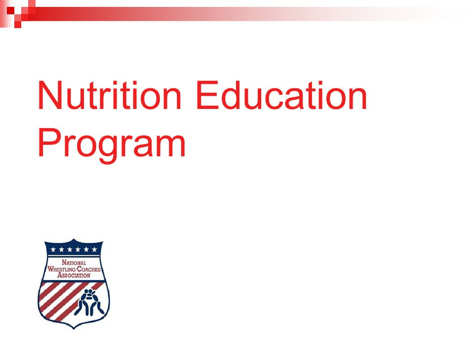 Nutrition Education Program