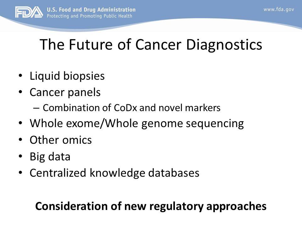 The Future of Cancer Diagnostics