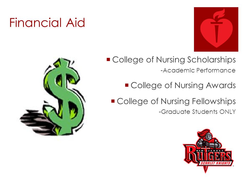 Financial Aid College of Nursing Scholarships