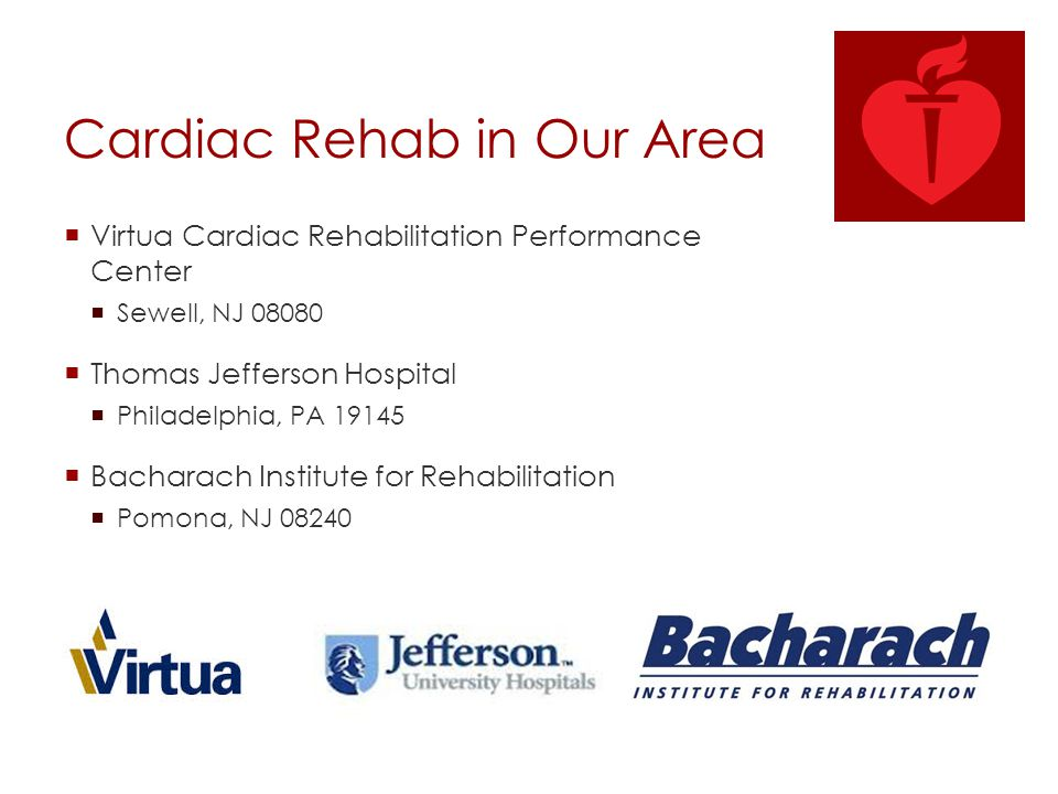 Cardiac Rehab in Our Area