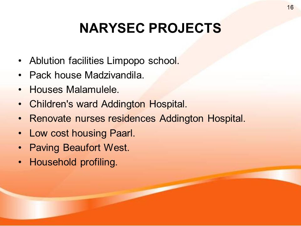 NARYSEC PROJECTS Ablution facilities Limpopo school.