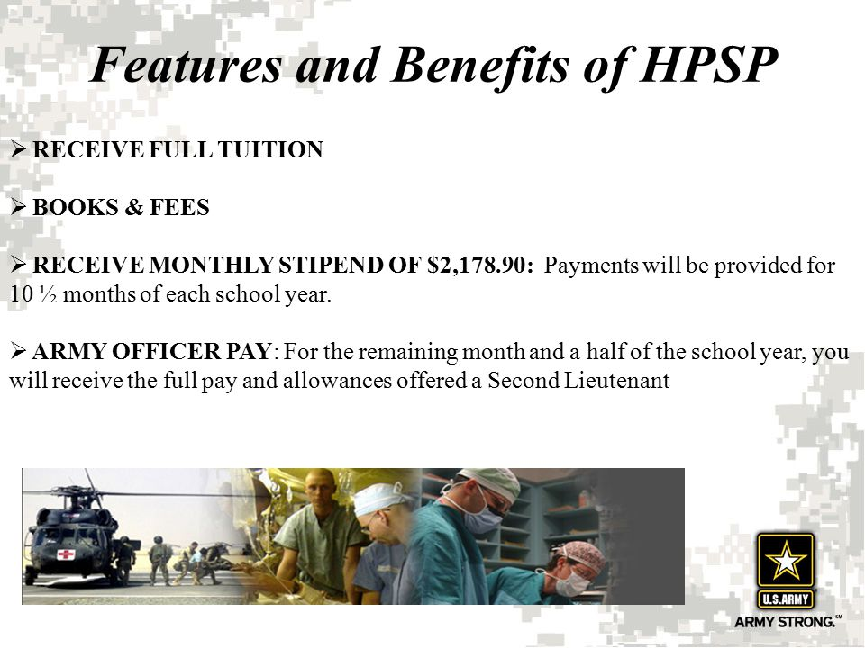 Features and Benefits of HPSP