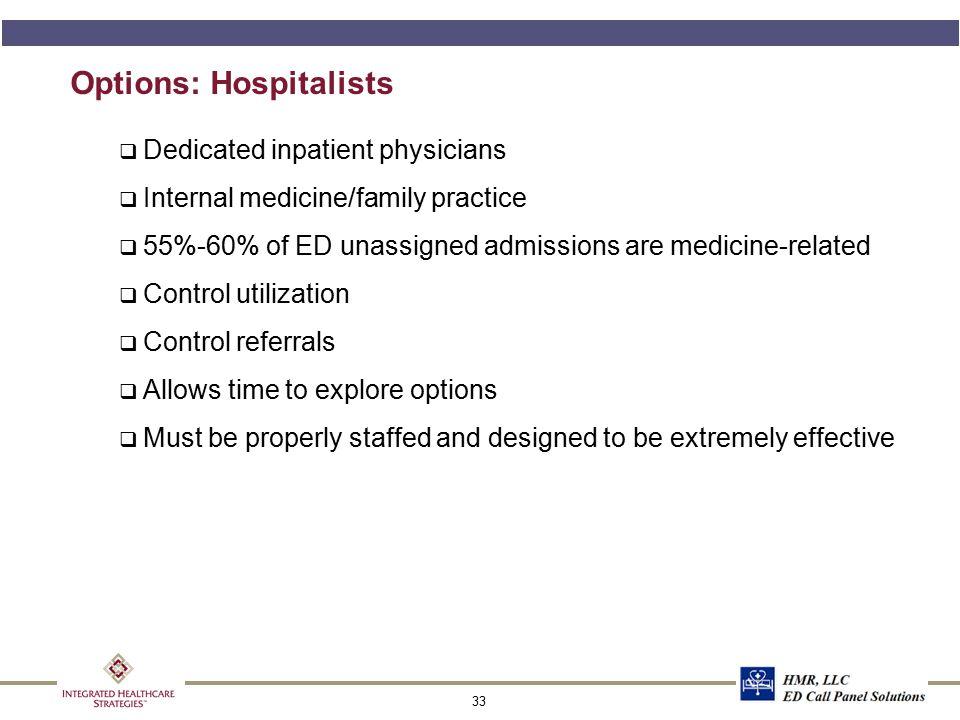 HOSPITALIST DIRECTED PATIENT CARE