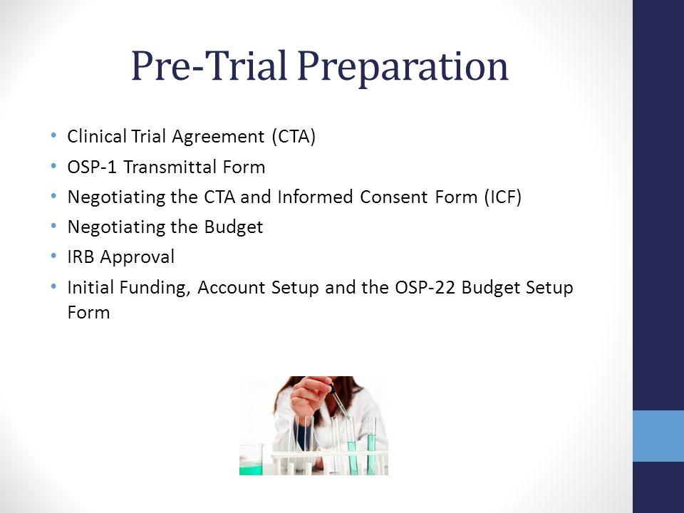 Pre-Trial Preparation