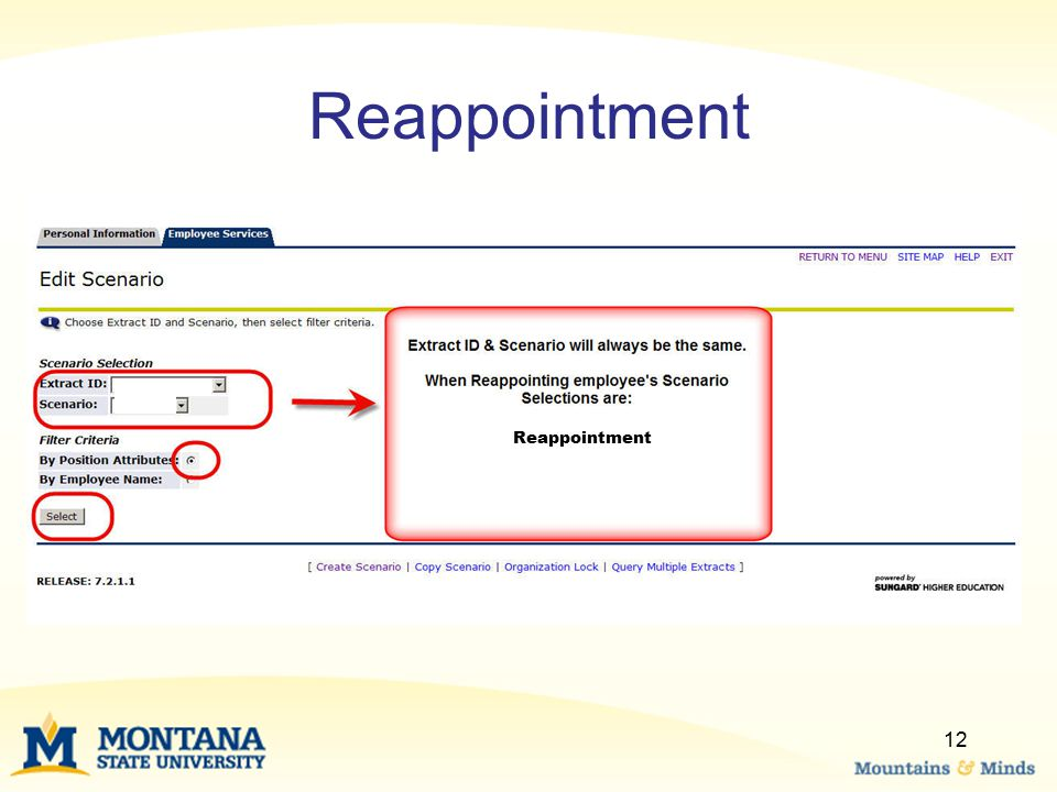 Reappointment Reappointment