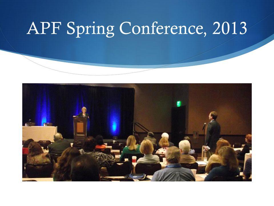 APF Educational Offerings