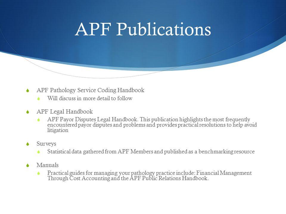 APF Practice Management Boot Camp
