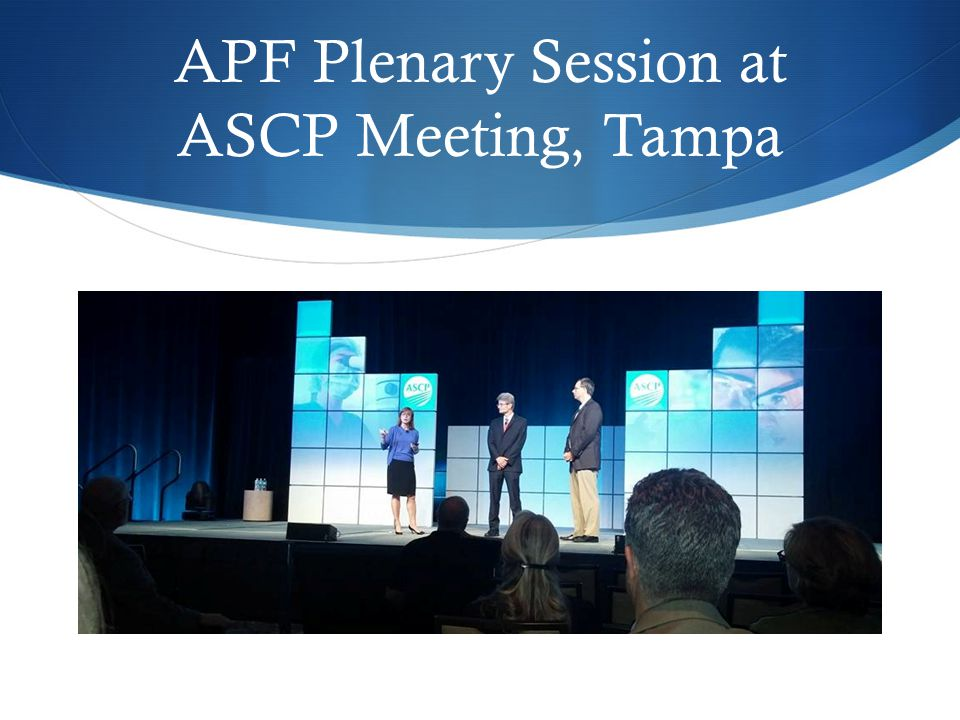 APF Networking Conference events Co-sponsored meetings and events