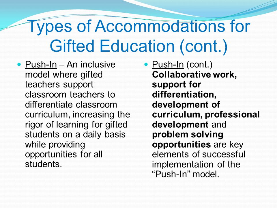 Deeper Learning A Collaborative Classroom Is Key ~ Gifted education in santa rosa county ppt video online